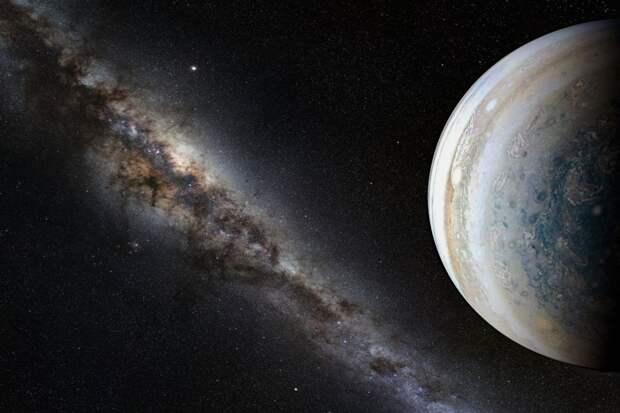 NASA засняли на Юпитере шторм, который может полностью поглотить Землю: видео