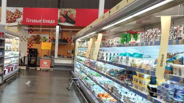 В половине магазинов Удмуртии нарушают правила выкладки «молочки»