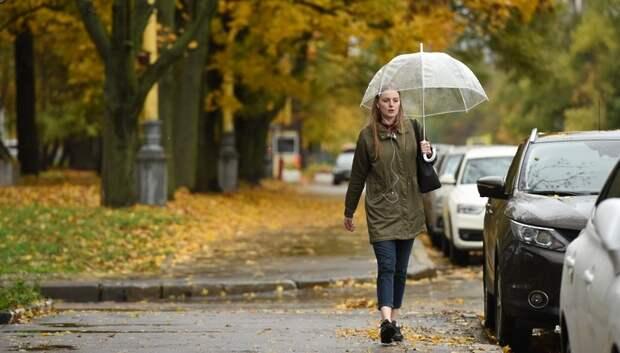 Более 70% месячной нормы осадков выпало в Московском регионе с начала октября