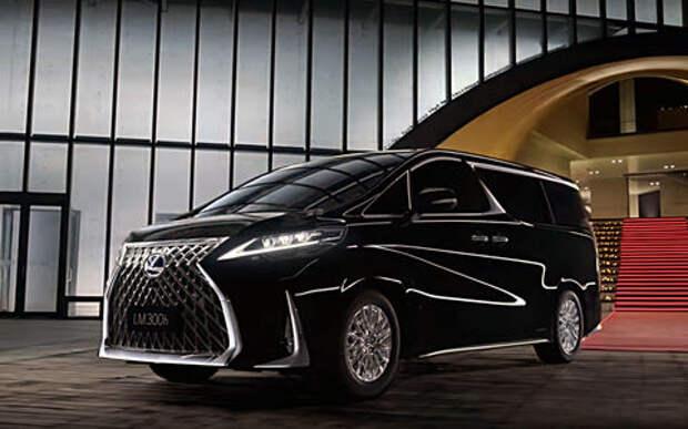 Lexus представил свой первый минивэн