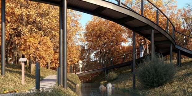 В пойме реки Чермянки появится дополнительный пешеходный маршрут