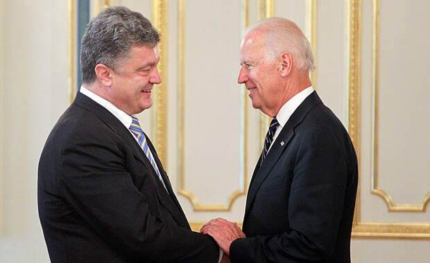 Байден и Порошенко высказались за начало работы миссии ОБСЕ по Украине