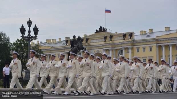 С Днём Военно-морского флота России!  Главный парад ВМФ в Петербурге: гордость над вольной Невой