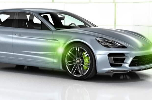 Porsche будет продавать только электрическую версию Pajun
