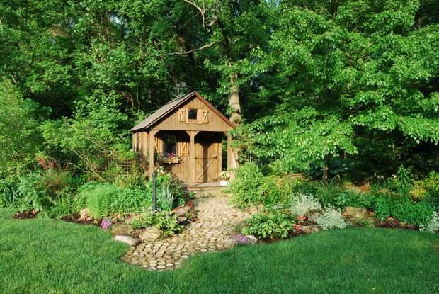 Садовые домики — 21 идея
