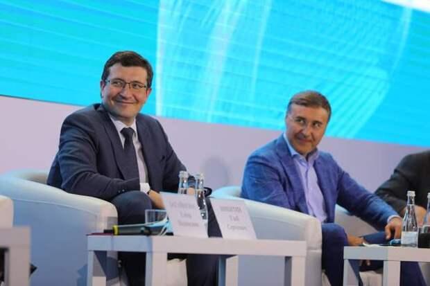 """Валерий Фальков и Глеб Никитин открыли форум """"Молодежь и наука"""""""