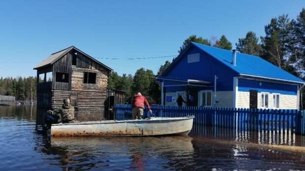 Деревню староверов затопило в Красноярском крае