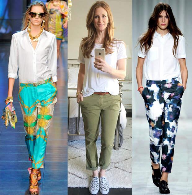 Как и с чем носить брюки-чиносы