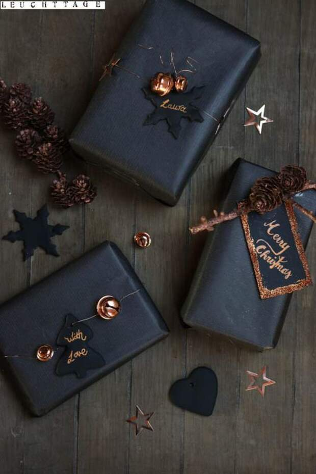 новогодние идеи упаковки подарков