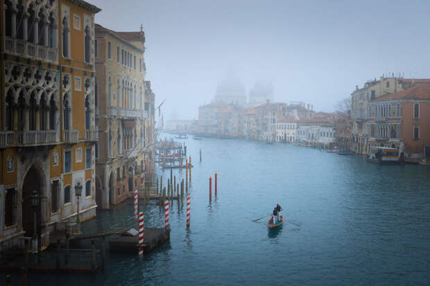 20 фото о том, какой безлюдной бывает Венеция зимой