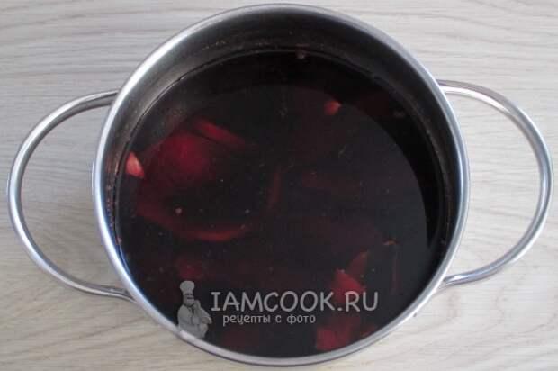 Рецепт безалкогольного глинтвейна из каркаде