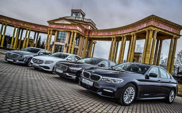 BMW 5-й серии против конкурентов: кто на пять?