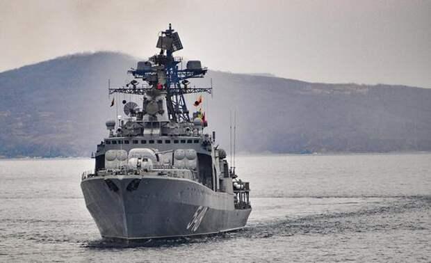 Baijiahao: учения ВМФ России спасли китайские корабли от столкновения с флотом США и Японии
