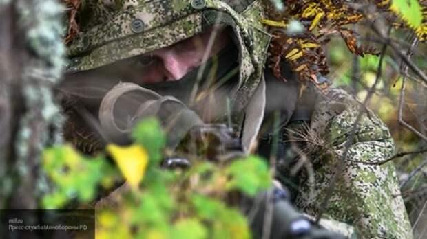 Снайперы ВС РФ провели стрельбы по БПЛА условного противника