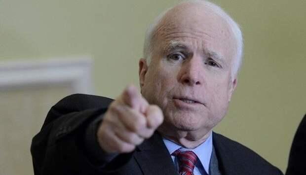 Лучше пустите в бой меня: Маккейн посоветовал Трампу не разбрасываться угрозами без готовности к решительным действиям   Продолжение проекта «Русская Весна»