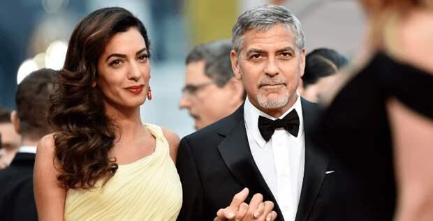 Джордж Клуни поделился, что до знакомства с Амаль не испытывал настоящей любви