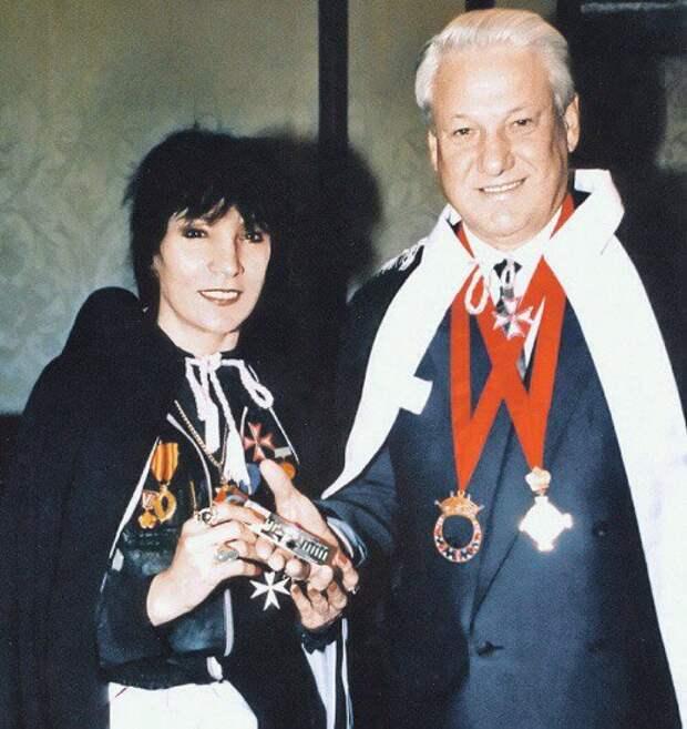 Ельцин и Джуна, 1994