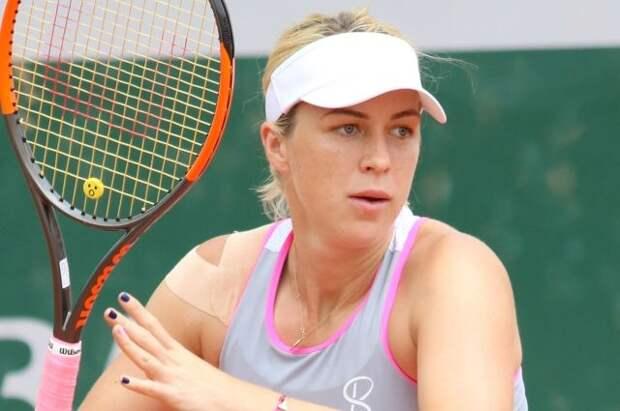 Павлюченкова не смогла выйти в финал теннисного турнира в Мадриде