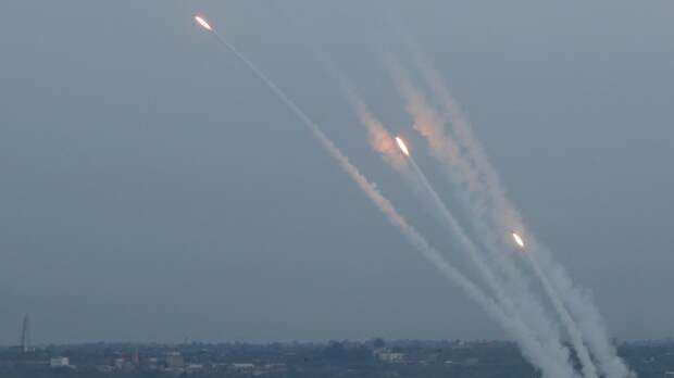 Израиль заявил о запуске более 2 тысяч ракет из сектора Газа