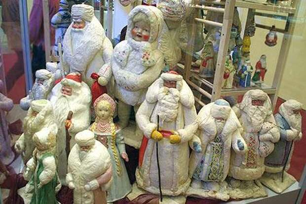 Советские новогодние игрушки тридцатых годов