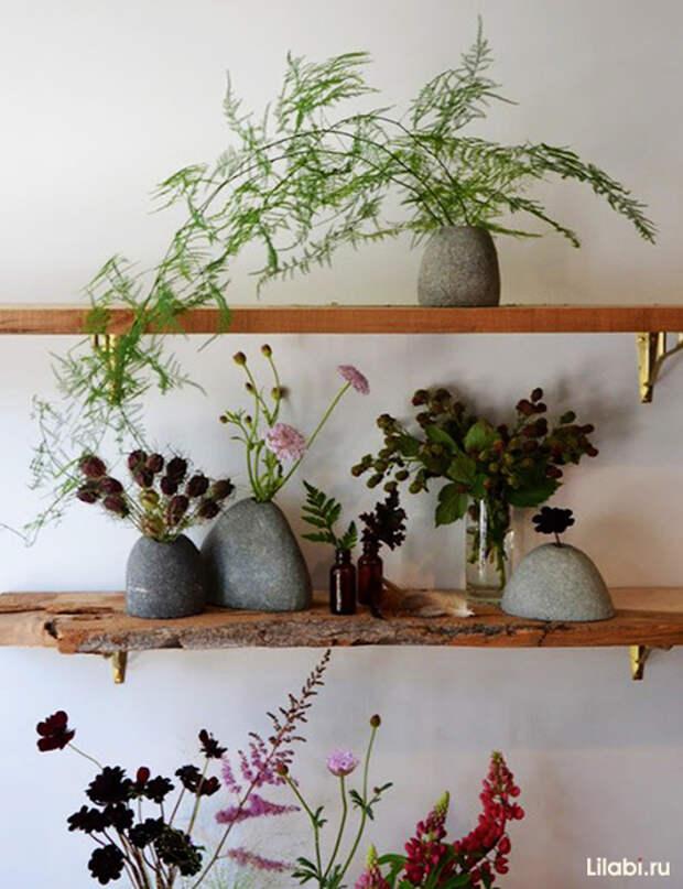 Украшение стен в квартире цветами