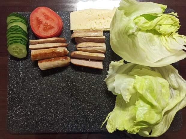 Рецепт ролла в лаваше по-домашнему!