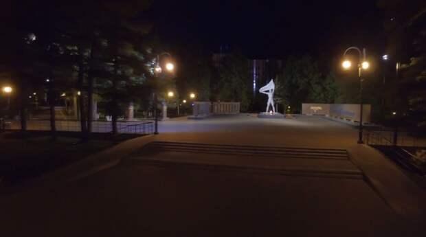 Вечный огонь, сквер у УдГУ и Арсенал получили подсветку ко Дню города в Ижевске
