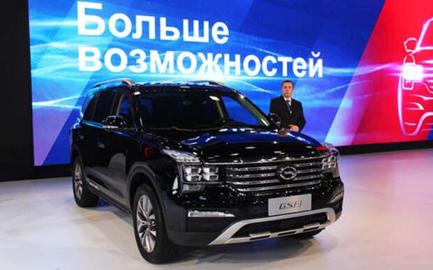 Международный автосалон в Санкт-Петербурге: битопливный Ларгус, Гранта Кросс и китайский GAC