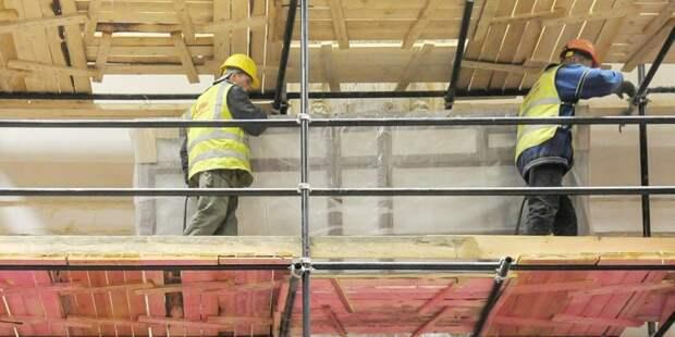 Храм на Фабрициуса планируют достроить в октябре