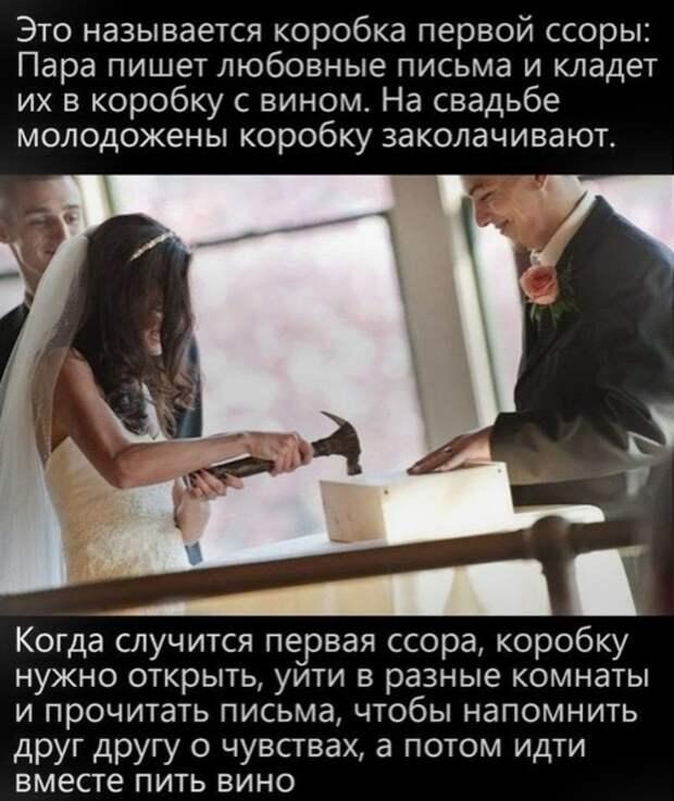 Идея для свадьбы