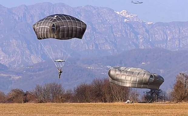 Десантирование американских военных в Эстонии окончилось травмами ног