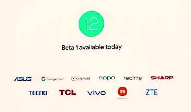 Названы смартфоны, для которых уже доступна бета-версия Android 12. В их числе Asus Zenfone 8, OnePlus 9 и Xiaomi Mi 11