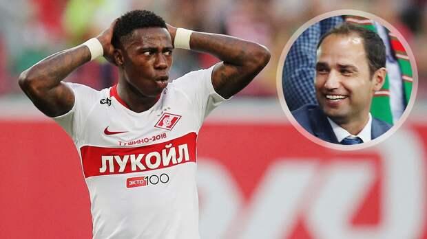 Широков отреагировал на возможное возвращение Промеса в «Спартак»