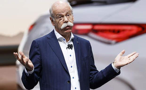 Упавшие Боинги вредят беспилотным автомобилям - глава Daimler