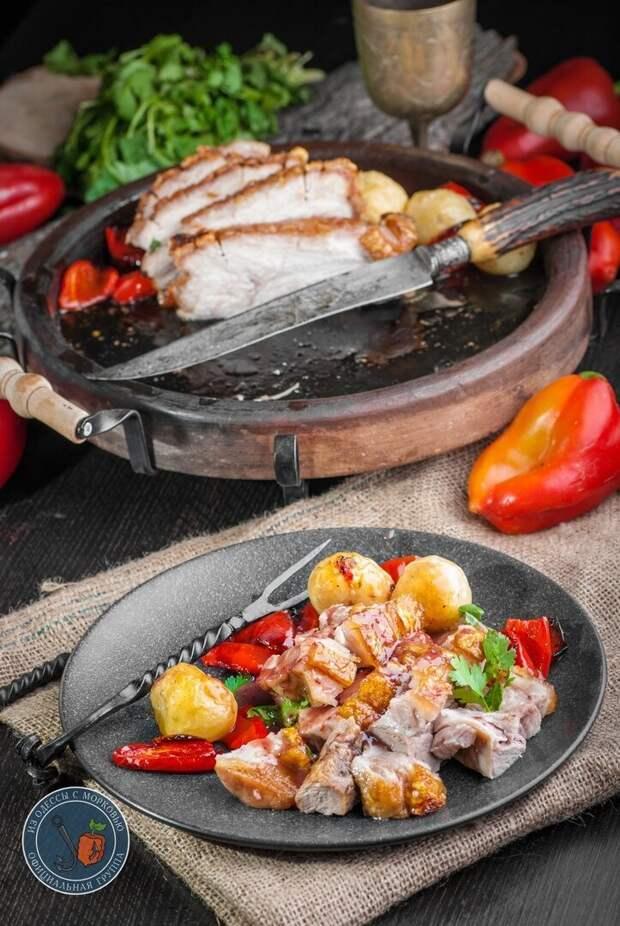 Как приготовить свинину по-датски