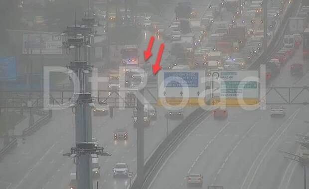 Движение по Ленинградскому шоссе восстановлено после аварии