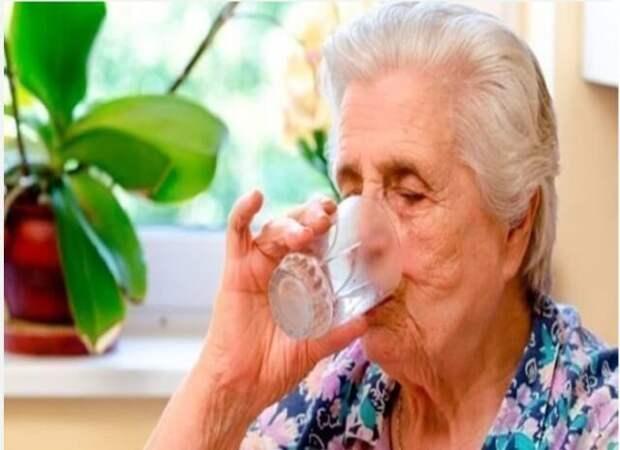 Чистка организма для пожилых людей