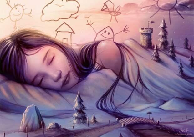 """Виды сновидений и уровни """"пробужденности""""  нашего  Сознания."""