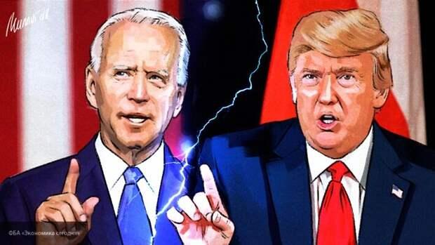 Джо Байден перепутал Трампа с Джорджем Бушем