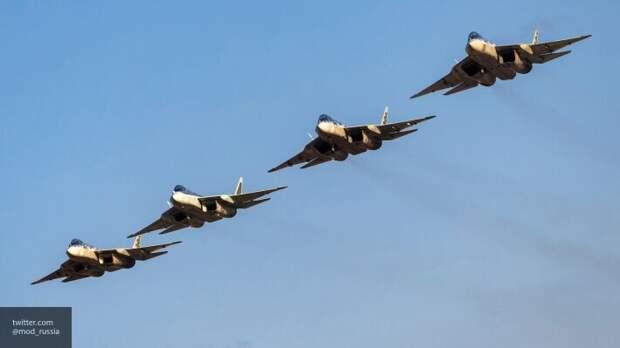 Российские истребители перехватили над Черным морем бомбардировщики США - кадры из кабины