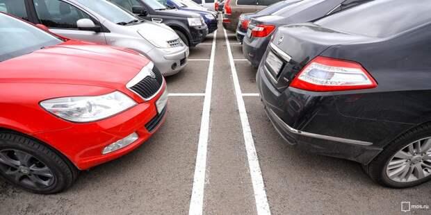 Новые парковочные места для резидентов появились на двух улицах района