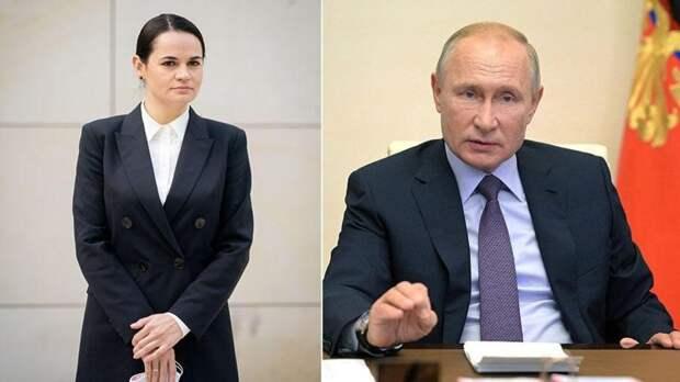 Тихановская рассказала о желании встретиться с Путиным