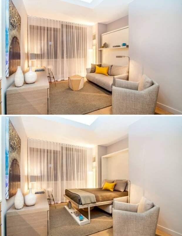 Необычная мебель для малогабаритных квартир