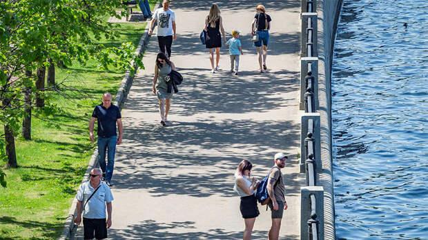Московская жара побила рекорд XIX века