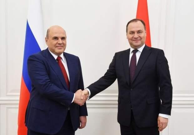 Мишустин прибыл в Белоруссию с двухдневным визитом