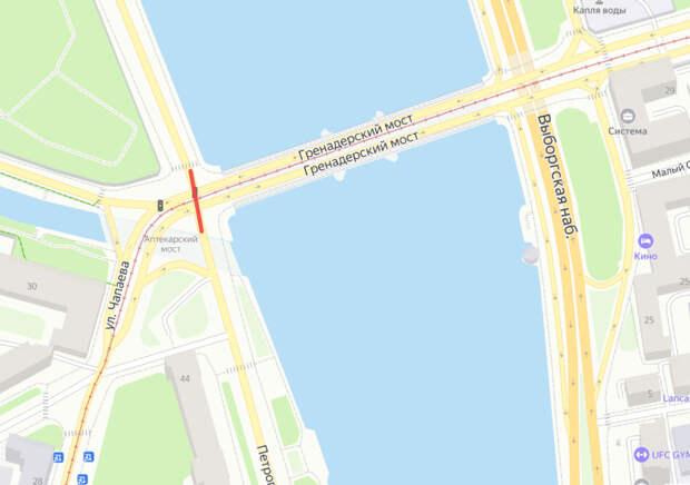 Тоннель у Гренадерского моста ограничат из-за ремонта трамвайных путей, ночной Литейный — для прокладки сетей