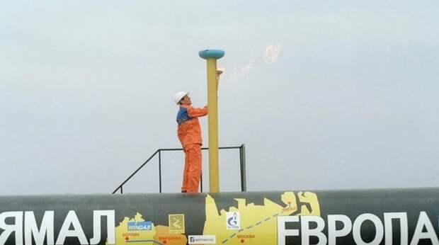 """""""Газпром"""" почти восстановил прокачку по газопроводу """"Ямал-Европа"""" до уровня до пожара"""