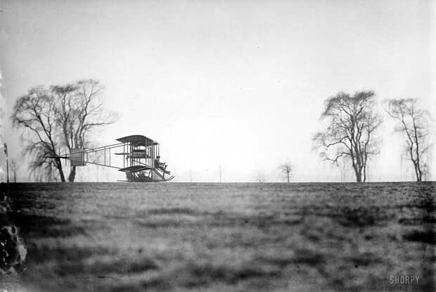 Самолеты и пилоты начала 20-го века на снимках американских фотографов (3)