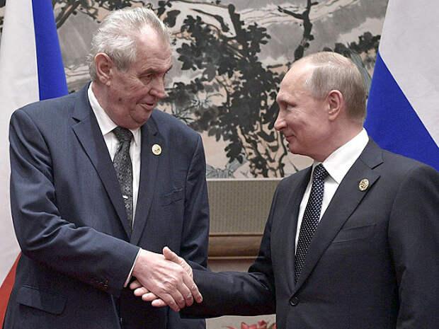 Земан «снял вину с России»: президент Чехии объяснил взрывы на складах попыткой скрыть недостачу оружия