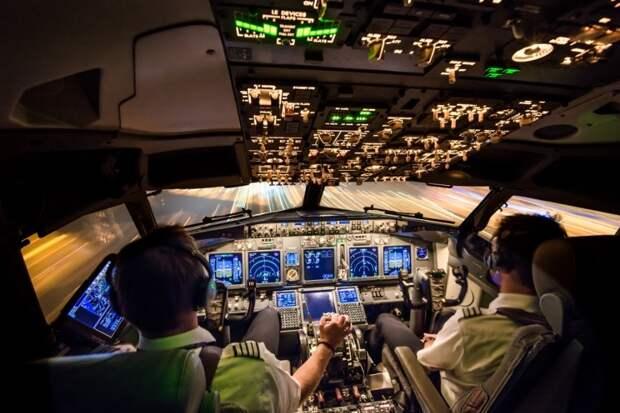 fromcockpit02 25 фотографий, сделанных пилотами из кабин самолетов